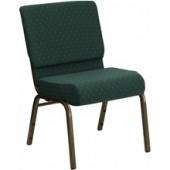 Fabric Stacking Church Chair