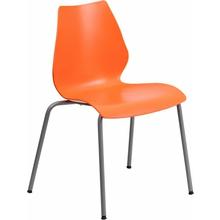 Orange Stack Chair